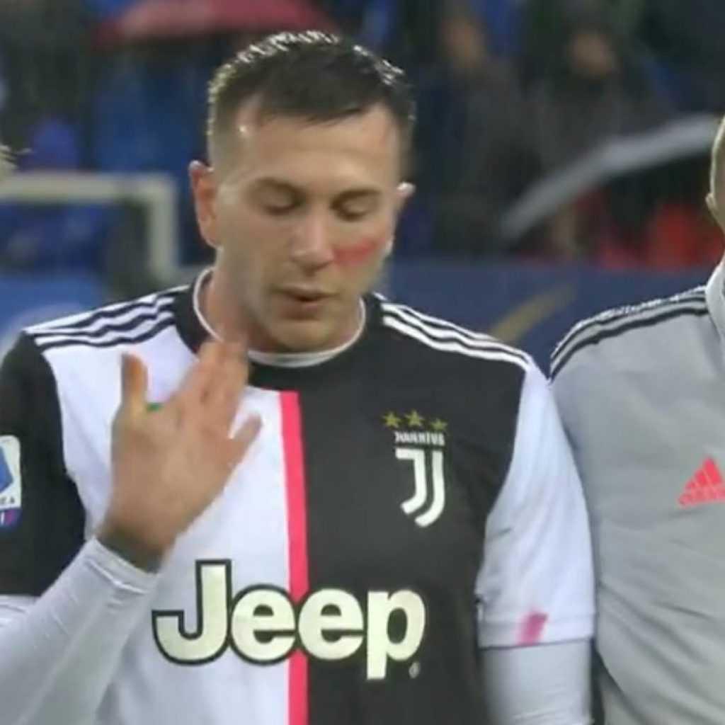 Bernardeschi infortunio Atalanta-Juve