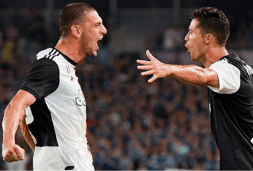Demiral e Ronaldo alla Juve