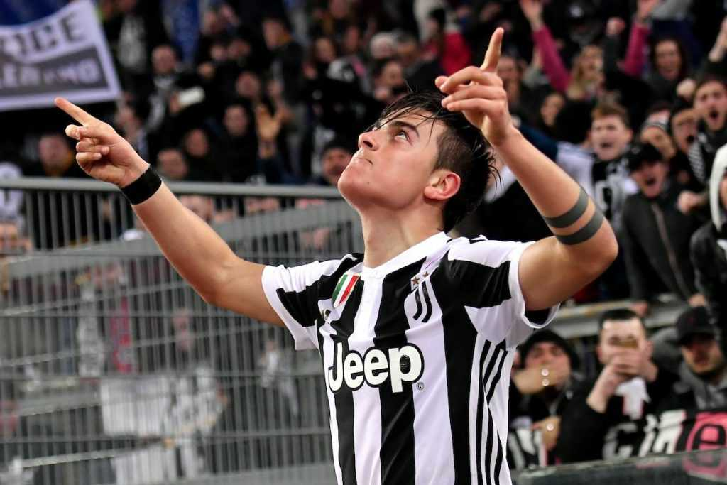 Lazio Juventus 0 1 Paulo Dybala 1